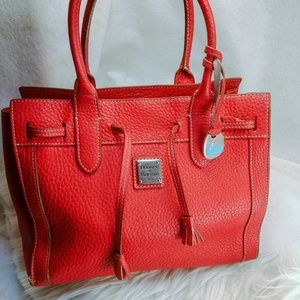 Authentic red Dooney Bourke purse handbag